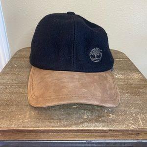 Timberland Wool Leather Baseball Hat